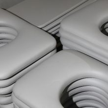PVC Pad Manufacture - finished pads