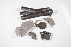 Laser cut metal components by Swanglen Metal Products